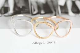 Wholesale 10pcs open round rings unique rings couple rings antique ring vintage style rings wedding rings JZ027