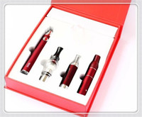 Wholesale Evod electronic cigarette wax dry herb smoking oil ecig vapor cig ego starter kit in vape pen for wax dry herb flower weeds smoke device