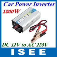 Cheap Big sale 1000W Car auto Truck USB DC 12V to AC 220V Power Inverter Adapter Converter LED Free Shipping