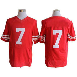 Wholesale Cheap Hot Sale Elite jerseys Red Stitched Authentic jersey American Football Jerseys