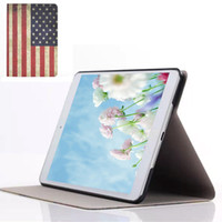 Wholesale S5Q Vogue Folio Printed Pattern Stand PU Leather Hard Case Cover For iPad Mini AAADTR