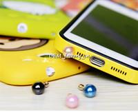 blackberry pearl - 3 MM Interface Pearl Anti Dust Jack Plugs Earphone Dustproof Ear Cap Stopper for iPhone iPad Samsung Blackberry Smart Phone