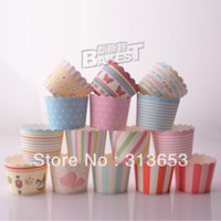 Wholesale cupcake baking cup paper muffin cup cake decorations cupcake liners cm