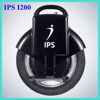Wholesale IPS I200 blance wheel Self Balancing One Wheels Electric Scooter Unicycle Driving Range km Balancing electric vehicl Free DHL