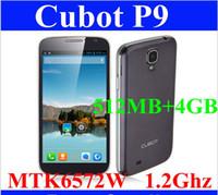 Cheap SZDEVEC Original Cubot P9 MTK6572 Dual Core Cell Phone Android 4.2 5.0inch Screen 5MP Camera Dual SIM 4G ROM GPS 3G Smartphone