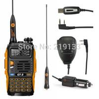 Wholesale Baofeng GT Mark II Speaker USB Cable Kit V U amateur radio