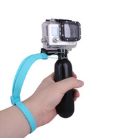 camera hand grip - Andoer Floating Hand Grip Handle Mount Wrist Strap Screw Accessory for GoPro Hero Camera Black Blue Yellow D1183