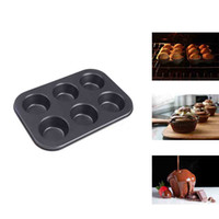 CIQ dishwasher - Pan Muffin Cupcake Bake Mould Mold Bakeware Cups Dishwasher Safe Versatile Sturdy Cooking Tools Kitchen Chocolate Accessories H11721
