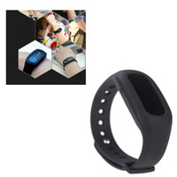 Wholesale ibody Tracker Intelligent Fitness Smart Wristband Pedometer Counter Bracelet Motion Record Step Distance Calorie Sleep Monitor H11802
