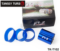 Blue air force performance - Tansky Turbo supercharger Twoside Fan Performance Force Flow Turbine Fuel Saver Blue TK T102 Have In Stock