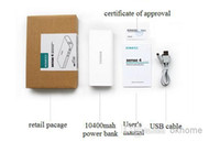 Wholesale Protable Power Bank Romoss Sense mAh Emergency Charger External Dual USB for smartphone iphone s samsung tablet PC