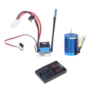 Wholesale Hobbywing EZRUN Brushless System B2 Combo A ESC T Motor LED Program Box for scale on road off road Sport RC Car RM1091
