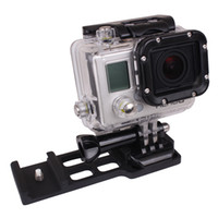 Wholesale Black Camera Picatinny Weaver Gun Guide Rail Mount Side for Gopro D1361