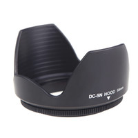 wholesale nikon - DC SN HOOD mm Screw Mount Flower Crown Camera Lens Hood Cover Petal Shape for Canon Nikon Tamron Sigma Sony mm Lens D1351