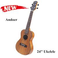 Wholesale Hawaiian Style Ukelele Ukulele Musical Instruments Andoer Ukelele Acacia Body Rosewood Fretboard Bridge Concert with Case I335