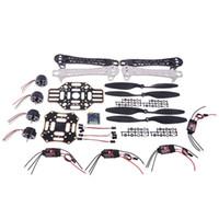 Wholesale HJ F450 RC Quadcopter Frame Tool Kit w Motor Propeller ESC MWC SE V2 Flight Controller Part RM1198