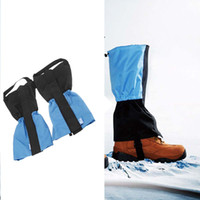 Wholesale New Arrival Outdoor Waterproof Windproof Winter Warm Gaiters Leg Protection Guard for Camping Hiking Climbing Skiing H11647