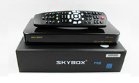 Wholesale Skybox F5S HD p Pvr Satellite Receiver VFD display support usb wifi youtube youporn Cccam drop ship