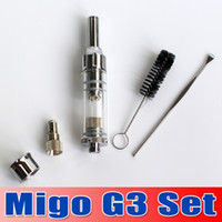 Hot Sale !!! 2014 Newest dry herb vaporizer pen migo g3 set ...