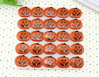 Wholesale Halloween Halloween manufacturer supplies light brooch flashing brooch Skeleton pumpkin ghost head pin g
