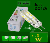 Wholesale 5pcs Mini Sale Replace W halogen lamp Angle G4 W led lighting beads bright v pin SMD3014 led in42patients energy saving lamp