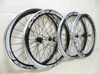 Cheap 1pair DURA-ACE C50 700C clincher 3K full carbon bicycle carbon bike wheelset+spokes+hubs