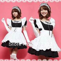 anime maid costume