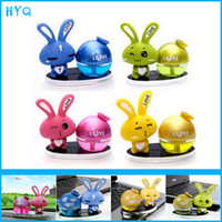 Wholesale Love rabbit car perfume seat bottle car perfume seat seat cartoon table instrument perfume seat Air freshener