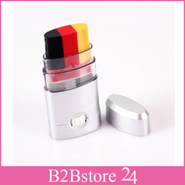 Wholesale German Flag Face Paint Face and Body Painting Non toxic Makeup Three Color for Halloween
