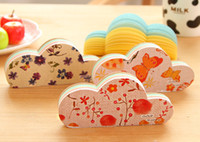 Wholesale New cartoon clouds designs Notepad sticky note Memo message post bookmark