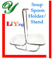 Wholesale 2se Full Soup spoon set stainless steel scoop holder cm Magnesia porcelain plates Quality Western dinnerware sets for restaurant gadgets