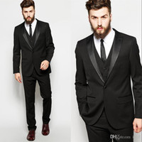 Blazers for Mens Black Suits Custom Made Fashion Wedding Mor...