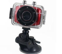 Wholesale Hot Digital Video Camera Portable Camcorders Helmet Waterproof HD Action Camera Sports DVR Outdoor DV