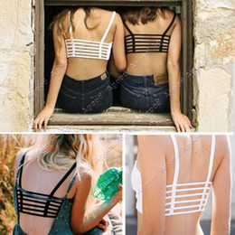 Wholesale Women Hollow Out sexy Tank Tops Bra Top Base Vest Underwear Camisole SV006419