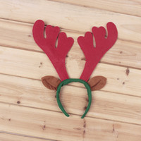Wholesale 2014 New Style Christmas Gifts Christmas Headband with Bell High Grade Christmas Party Decoration Props with Plastic hair clasp