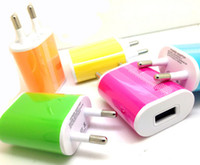 Wholesale USB charger EU US Plug Wall Charger elliptical egg roll AC Home Travel Charger Adapter For Samsung iPod iPad Smartphones LG HTC pc J