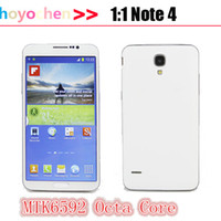 Wholesale HDC Note note4 GB ROM GB RAM MTK6592 Octa Core Android Air gesture inch MP GPS G unlocked smartphone