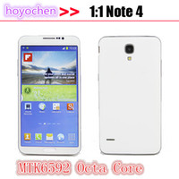 Wholesale Note SM Octa Core MTK6592 android quot Screen MP Camera GB RAM GB ROM USB Android Voice Unlocked G GPS SmartPhone