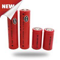 700mAh Non-Adjustable  AW 18350 18650 18500 Battery Rechargeable Battery 3.7V 700mah For Mechanical Mod Epipe King Maraxes Nemesis mod mnke vtc battery Fedex