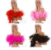 Wholesale m g Feather Boa Fluffy Craft Costume Dressup Wedding Party Home Flower Decoration F080