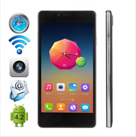 Cheap Free DHL Cubot S208 5.0 inch OGS IPS Screen Quad Core MTK6582 Android 4.4 Smartphone 1G + 16G 8.0MP + 5.0MP Camera WIFI WCDMA Cell phone
