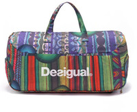 Wholesale fashion desigual travel bags waterproof bag large capacity portable duffel bag