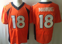 Wholesale Peyton Manning Elite Jerseys Hot Sale American Football Wears Brand Football Sportswears Well Embroidery USA Team Jerseys