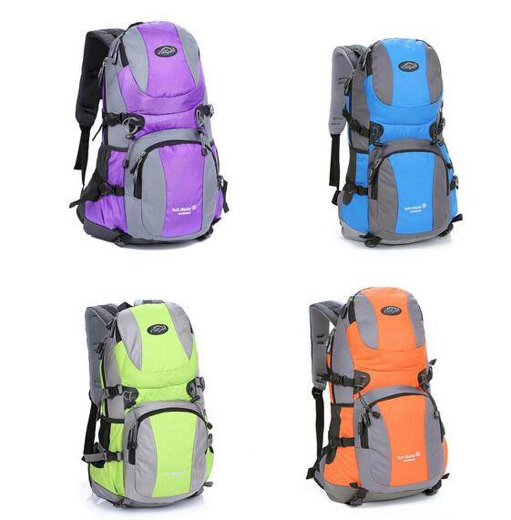 32L Mountaineering Bag Outdoor Travel Backpack Casual Student ...
