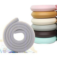 Wholesale Hot Selling Table Edge Corner Cushion Strip with Sticker m Baby Children Child bumper strip Baby Safety Corner protector