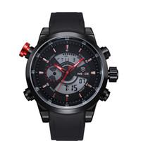 Cheap WEIDE Watches Men Luxury Brand Japan Quartz Movement 3ATM Waterproof Analog Military Watch Relogio Clock Men Fashion Style New