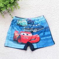 Cheap Cars Summer Boys Swim Trunks Fashion Boy Kids Swimwear Children's Beach Supplies Child Sets Beachwear Kids Bathing Suits Children Swimwear