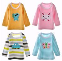 baby long underwear - Toddler tee shirt Baby Girls Pajamas tops underwear Children s T shirts