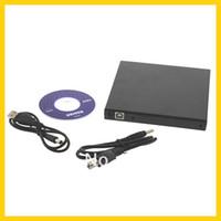 Wholesale 5pcs USB DVD CD DVD Rom SATA External Case Slim For Laptop Notebook New