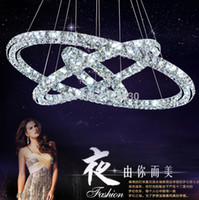 Wholesale Modern Crystal Chandelier High Quality Led Modern Pendant Lamp Hanging Light Crystal Fixtures MM